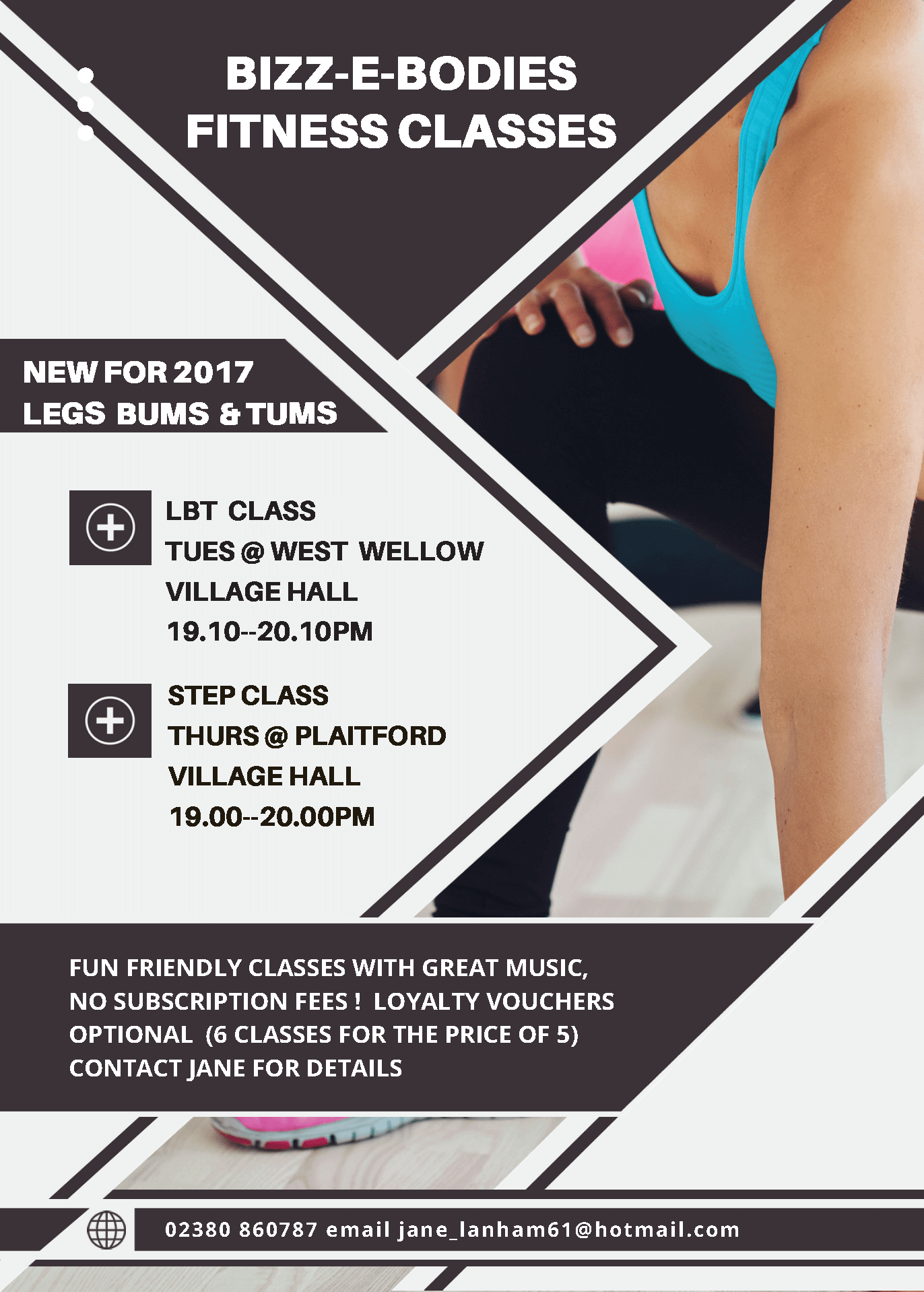 Bizz-e-Bodies classes 2017